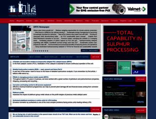 digitalrefining.com screenshot