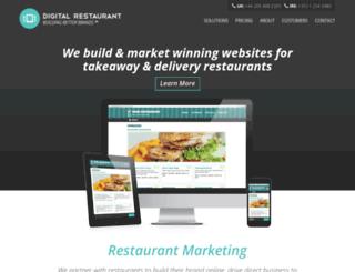 digitalrestaurant.ie screenshot