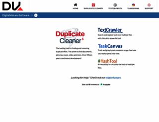 digitalvolcano.co.uk screenshot
