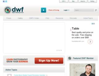 digitalweddingforum.com screenshot