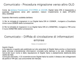 digitelitalia.com screenshot