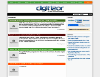 digitizor.com screenshot