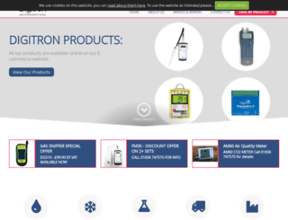 digitron.com screenshot