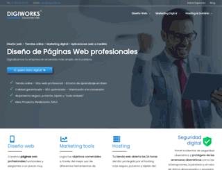 digiworks.es screenshot