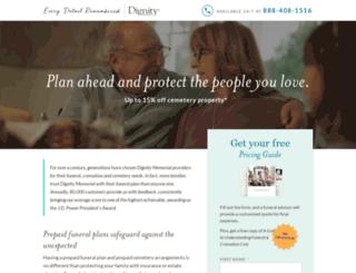 dignityjacksonville.com screenshot