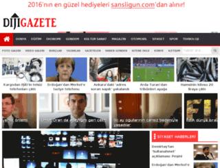 dijigazete.com screenshot