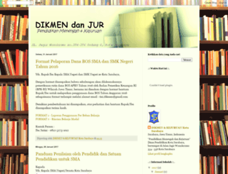 dikmenjursby.blogspot.co.id screenshot