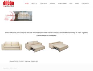 dileto.com screenshot