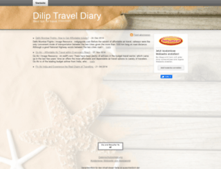 diliptraveldiary.beepworld.de screenshot