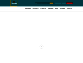 dilmahtea.com screenshot