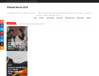 dilwalemovie2015.blogspot.com screenshot