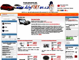 dilyfiatov.cz screenshot