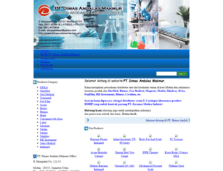 dimasandalasmakmur.com screenshot