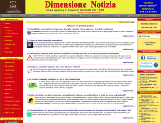 dimensionenotizia.com screenshot