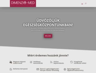 dimenzio.net screenshot