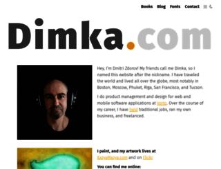 dimka.com screenshot