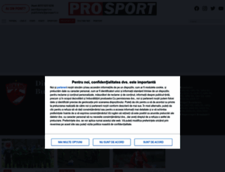 dinamo.prosport.ro screenshot