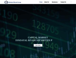 dindayal.net screenshot