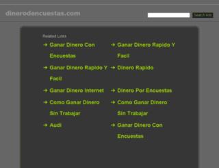 dinerodencuestas.com screenshot