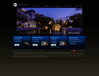 dinersclubus.com screenshot