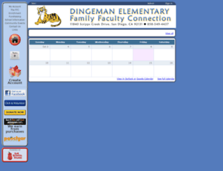 dingeman.ourschoolpages.com screenshot