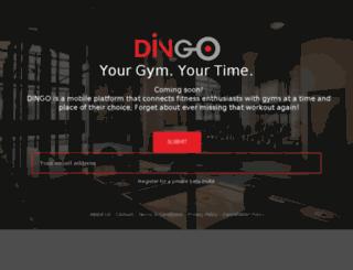dingo.co.in screenshot