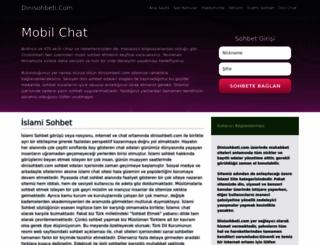 dinisohbeti.com screenshot