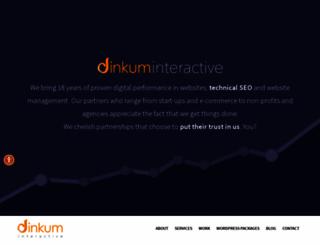 dinkuminteractive.com screenshot