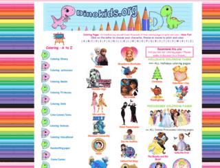 dinokids.org screenshot