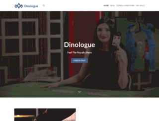 dinologue.com screenshot
