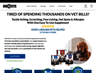 dinovite.com screenshot