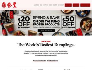 dintaifung.com.au screenshot