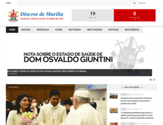 diocesedemarilia.org.br screenshot