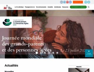 diocesemontreal.org screenshot