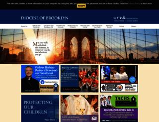 dioceseofbrooklyn.org screenshot