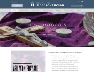 diocesetucson.org screenshot