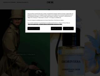 dior.com screenshot