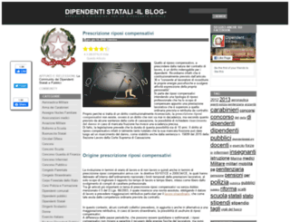 dipendentistatali.org screenshot