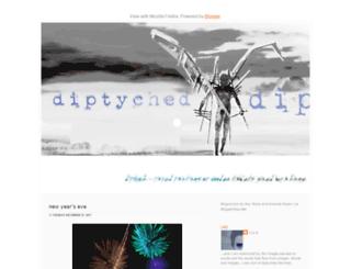 diptyched.blogspot.com screenshot