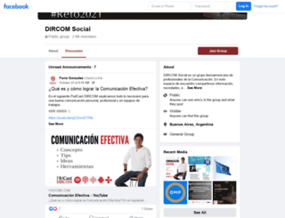 dircomsocial.com screenshot