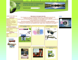 direct-bio-shop.com screenshot