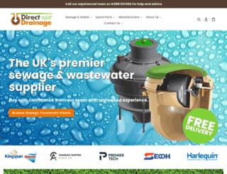 direct-drainage.co.uk screenshot