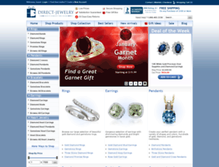 direct-jewelry.com screenshot