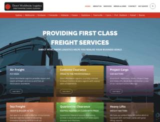 direct-logistics.com.au screenshot