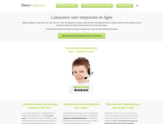 direct-temporaires.fr screenshot