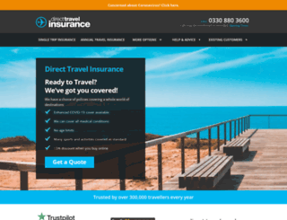 direct-travel.co.uk screenshot