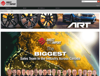 directautoimport.com screenshot