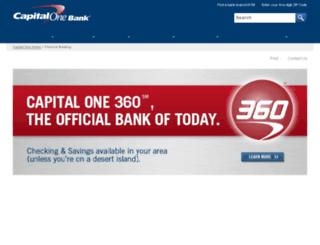 directbanking.capitalone.com screenshot