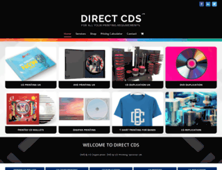 directcds.co.uk screenshot