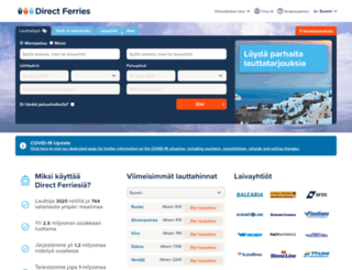 directferries.fi screenshot